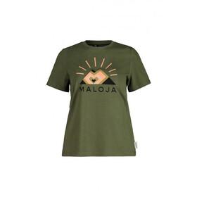 Maloja GoldnesselM. SS T-Shirt Women moss